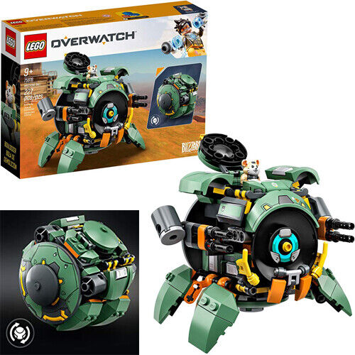 Lego Overwatch Mech Wrecking Ball Building Kit Kids Transfor