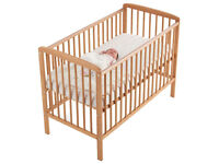High Quality Costello Baby Cot With Mattress
