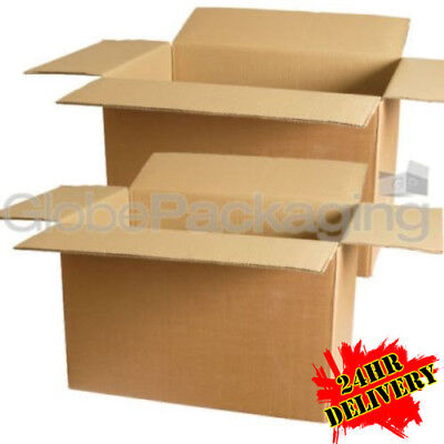 20 Strong Large S/W Removal Moving Cardboard Boxes 22x14x14