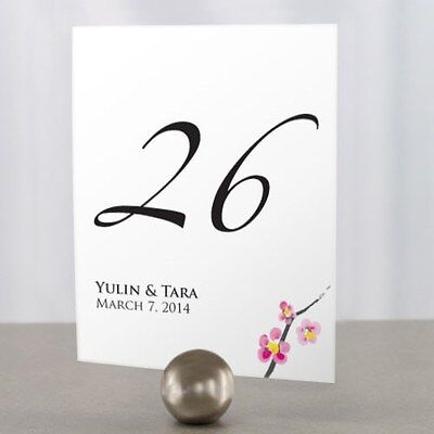 Personalized Cherry Blossom Wedding Table Numbers - Cherry Blossom Centerpieces