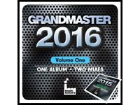 Grandmaster Mix CD 2016 Volume 1, One Album 2 Mixes