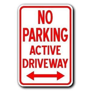 No Parking Sign | eBay