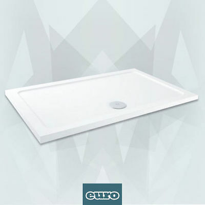 1500x900mm Shower Tray - Low Profile Pearlstone *Free Waste*