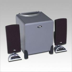 Speakers Cyber Acoustics CA-3090 - 2.1 Channel pour PC