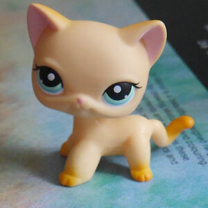 Littlest Pet Shop Toys Sitting Siamese Cats