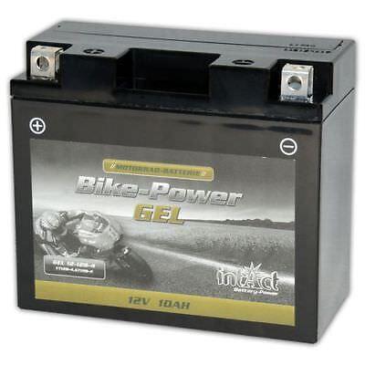 Intact Motorrad Batterie Bike-Power Gel 12V 10Ah YT12B-BS YT12B-4 *NEU*