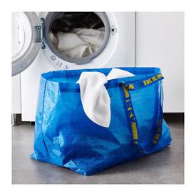 IKEA Large Blue Frakta Bag.Suitable for storage, laundry, shopping etc...