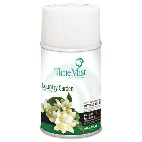 TimeMist 1042786 6.6 oz. Country Garden Fragrance Dispenser Refills (12-PC) New