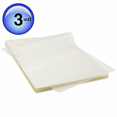 Scotch Thermal Laminating Pouches 100 Pack Count Paper Sheet Letter Size