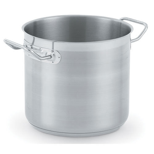 Vollrath 3504 Stock Pot with Cover - Optio Stainless Steel 18 Qt.