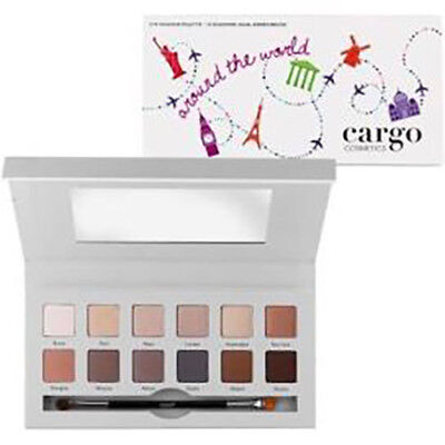 Cargo Around the world eye shadow palette - New - Boxed 12 neutral shades