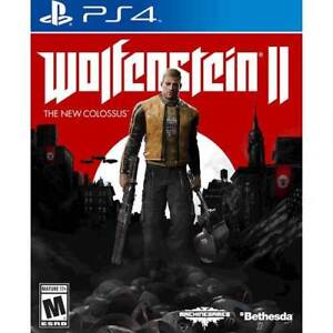 Wolfenstein 2: The New Colossus  $25 PS4