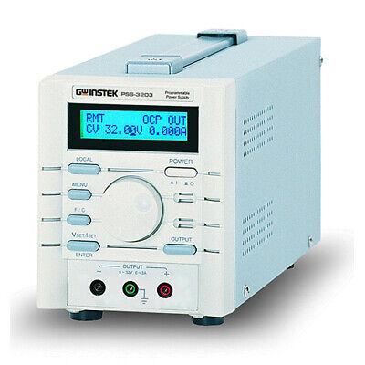 Instek Pss3203 Programmable Dc Power Supply 32v3a Rs232 Interface