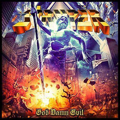 STRYPER CD - GOD DAMN EVIL (2018) - NEW UNOPENED - ROCK METAL - FRONTIERS