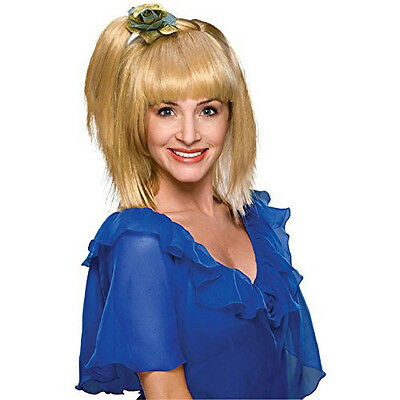 70's Prom Girl Wig - 70's Prom Girl Queen Side Pony Tail Wig