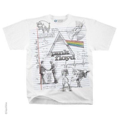 New PINK FLOYD Sketch T Shirt