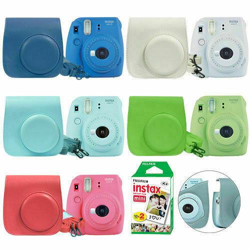 Fuji Instax Mini 9 Fujifilm Instant Film Camera All Colors+