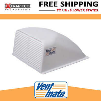 "VentMate Roof Vent Cover - Aerodynamic - Increased Air Flow - 14""x14"" White"