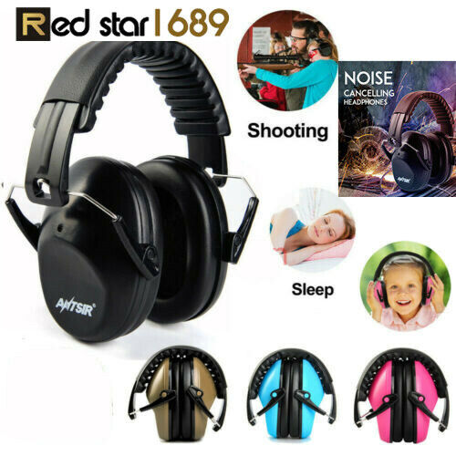 Ear Muffs Hearing reduce Noise Reduction 34dB Protect ear Gu