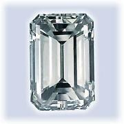 1 Carat Emerald Cut Diamond