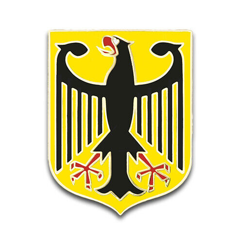 GERMAN EAGLE GERMANY COAT ARMS CREST LAPEL PIN GIFT BOX DEUTSCHLAND BUNDESADLER