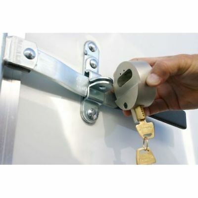 2 Cargo Enclosed Trailer Lock Hockey Puck Internal Shackle Lock Padlock U Need
