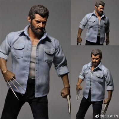 Wolverine Real Name (Genuine 11 eleven 1/6 Logan Wolverine Suits Hugh Jackman HOT FIGURE)