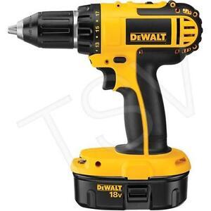 "DeWalt 18V 1/2"" (13mm) Cordless Compact Drill / Driver Kit"
