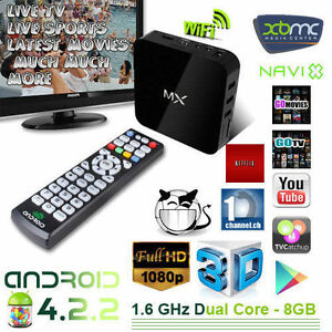 Android Box - Kodi installed. Watch free movies and TV online.