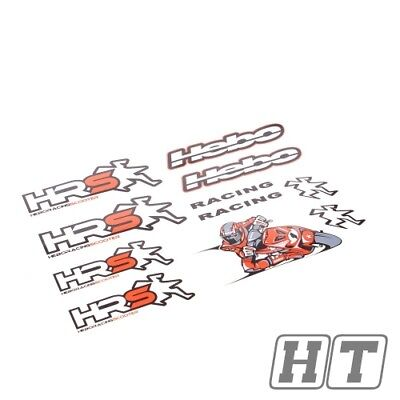 STICKER SET HEBO HRS 510X350MM FOR SCOOTER MOTORCYCLE