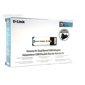 D-Link Xtreme N Dual Band N+300 USB Wi-Fi Network Adapter DWA-160