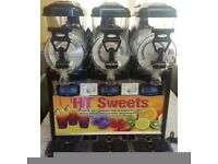 Kream line slush machine 3x6ltr with stock ,Delivery: 1 to 2 working days.,,.-__-best quality,,,-__-