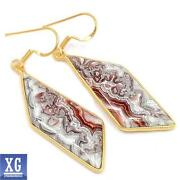 Mexican Gold Earrings