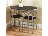 Breakfast /Dining Table and Chair 3PCS Dining Set With One Table And Two Chairs
