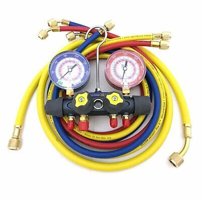 Mechanical Manifold Gauge Set4-valve Yellow Jacket 49967