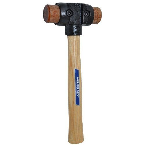 "Vaughan SH150 1-1/2"" Split-Head Hammer (Rawhide Face)"