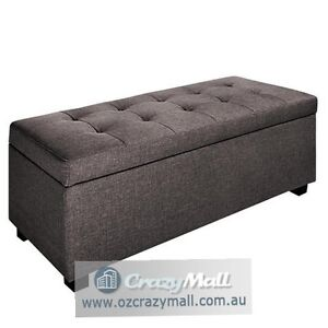 Classic Linen Large Ottoman with Storage Other Colors Available Mosman Mosman Area Preview