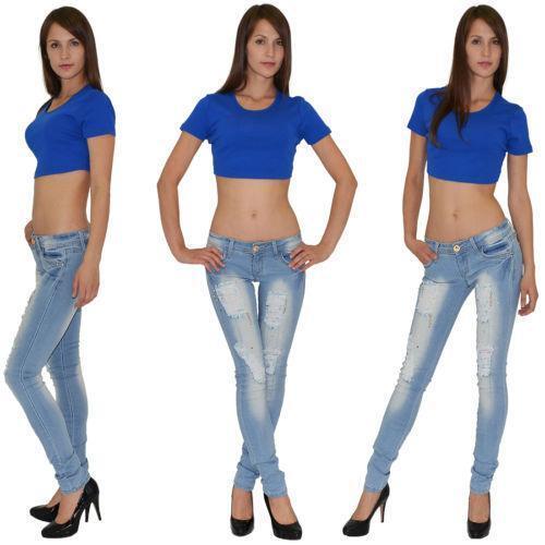 jeans mit rissen g nstig online kaufen bei ebay. Black Bedroom Furniture Sets. Home Design Ideas