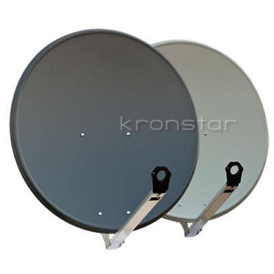 SAT-Antenne ALU 80cm TOP Qualität Satellitenschüssel Schüssel Spiegel Aluminium