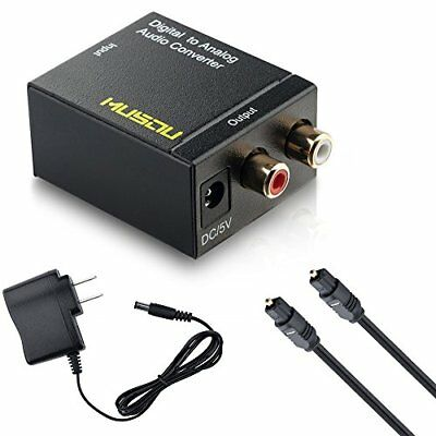 Musou Digital Optical Coax to Analog RCA Audio Converter Ada