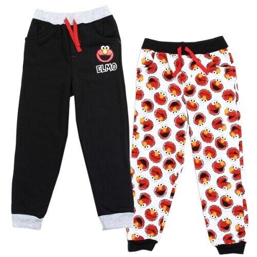 NWT 2PC Toddler Boy Clothes Fleece  Elmo Sweatpants -  2T, 3
