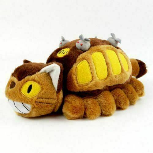 Anime Studio Ghibli My Neighbor Totoro Cat Bus Plush Toy Soft Stuffed Kids Doll