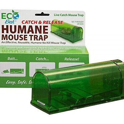 ECO BEST Harris Humane Mouse Trap, Catch & Release LIVE CATCH-Reusable