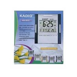 Digital Jumbo Wall Mount And Table Temperature Display Clock KD-3810 KADIO
