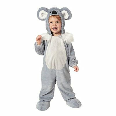 NEW Toddler Infant Kids Adorable Koala Jumpsuit Halloween Costume NWT