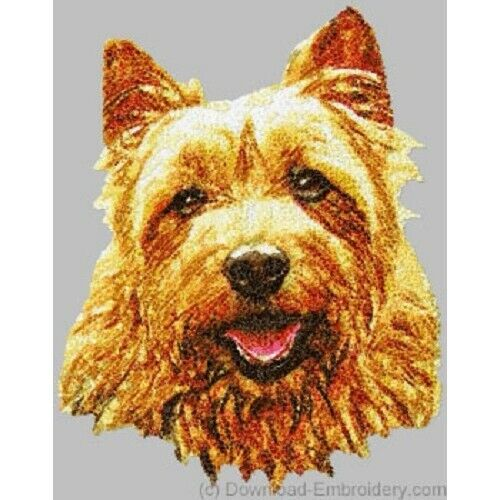 Embroidered Ladies Fleece Jacket - Australian Terrier DLE1473 Sizes S - XXL