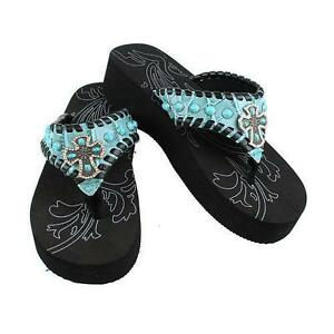 00c951ec0a8a Western Rhinestone Sandals