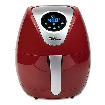 Power 3 4 Qt  Air Fryer Xl In Red