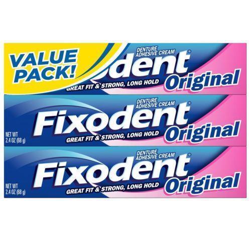 Denture adhesive oral care ebay