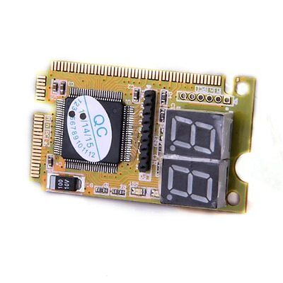 Diagnostic Post Card USB Mini PCI-E PCI LPC PC Analyzer Tester LW SZUS